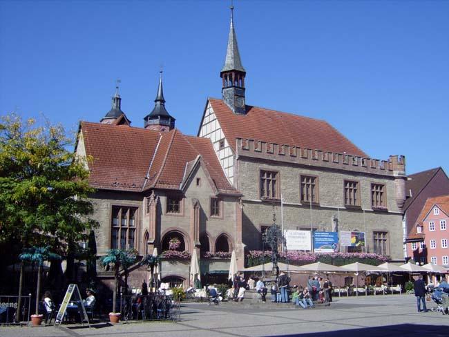 Старая ратуша, Гёттинген, Германия.