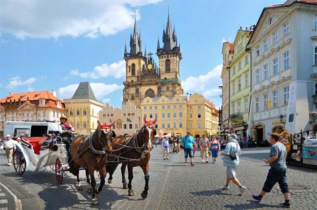 Фото: Прага.