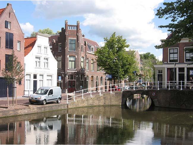 Город Делф, Нидерланды.
