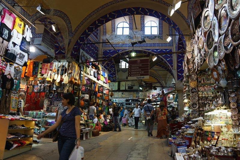 Гранд базар в Стаммбуле