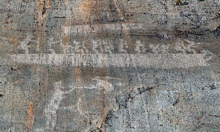 belomorskie petroglify zalavruga