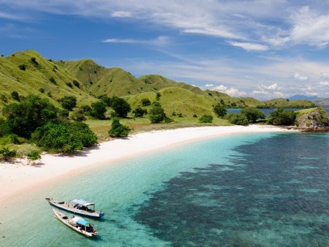 Ошеломляющий остров Комодо должен быть выбран вместо Бали.
