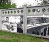Исторический стрит-арт украсил индустриальные объекты «Канала имени Москвы»