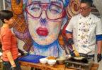 На сингапурском мастер-классе потчевали кулинарными специалитетами и учили рисовать себе счастье
