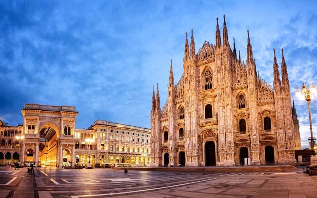 Кафедральный собор в Милане