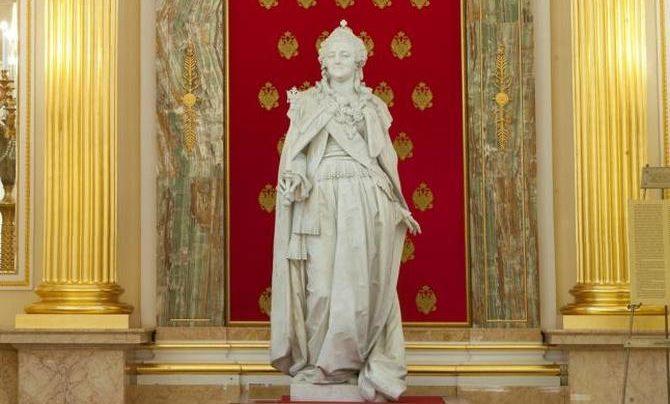 Екатерина Великая вернется из Валлетты в Москву