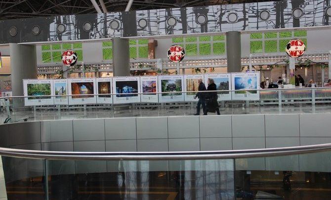 В аэропорту Внуково открылась фотовыставка «Путешествуйте дома. Весна»