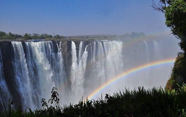 Водопад Виктория закрыт для посещения из-за COVID-19